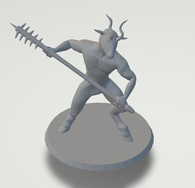 Saytr Figurine