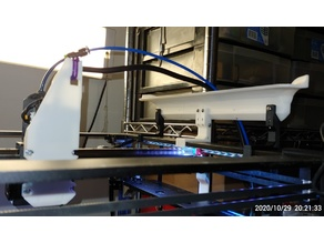 Y-Axis Hotend Cable Support Coreception, Elf and SahpphirePro