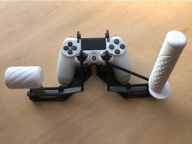 A joystick rendszer / forrás: Thingiverse