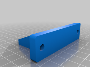 E3D Titan Stepper Motor Mount for 20x20 Profile (2020 Extrusion) 24mm Larger Hole