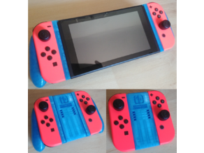 3 in 1 Nintendo Switch grip / Poignée 3 en 1 Switch (Remix & combo))