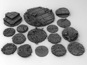 War Gaming Base Toppers