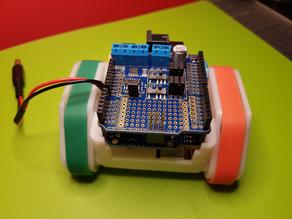 SMARS modular robot chassis remix