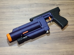 Microburst - 3D printed CO2 powered blaster