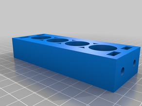 Side Spool Mount 4 Hole Extension - Ender 3 (Pro) / Creality CR