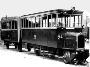 DeDion Metric Diesel train railbus