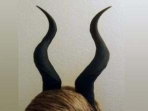 Wearable Spiral Horns