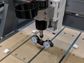 CNC Tramming Plate Adjuster