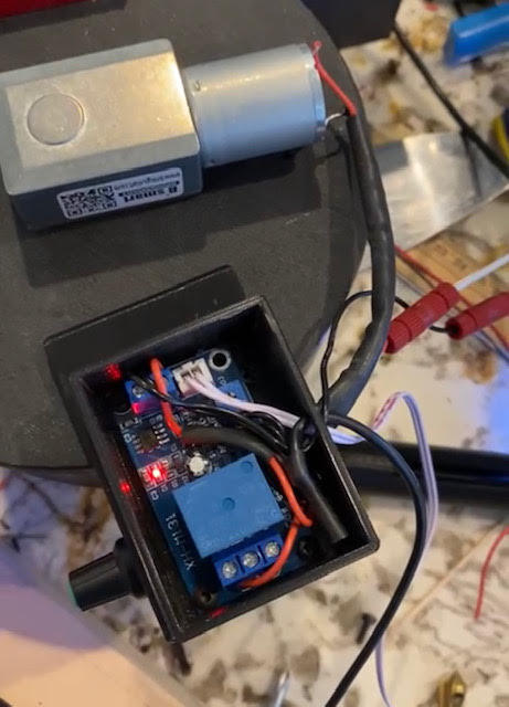 Electronics Box for Light Control Switch