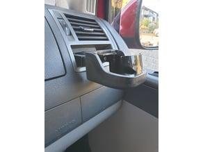 Cup holder mount for VW Caravelle T5.2