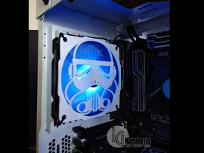 Stormtrooper 120mm Fan Grill