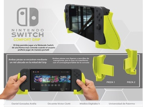 NINTENDO SWITCH GRIP JOISTICK