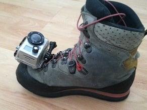 GoPro selfie shoe mount