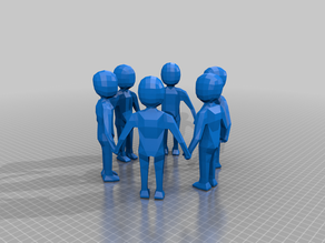 6 People Holding Hands