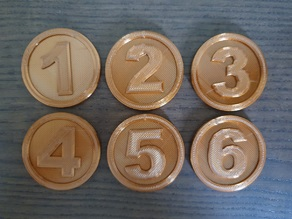 Simple Objective Markers 40mm