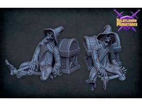 Sorcerer skeleton