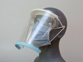 Visor Face Shield 3-Hole