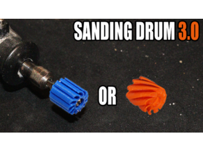 Dremel Sanding Drum 2.0 and 3.0 (helix)