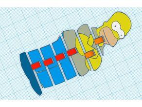 Homer Simpson Flexible