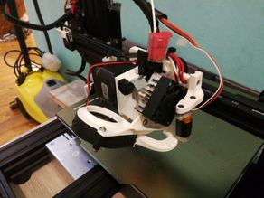 Direct extruder with fun duct for Tronxy XY2 Pro