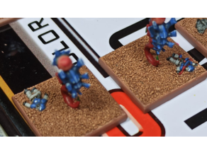 Epic space bug base toppers