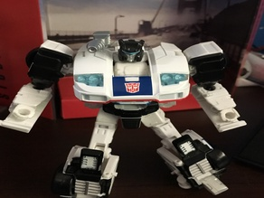 TRANSFORMERS-Power of the Primes JAZZ gun mount