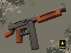 M1A1 Thompson for Lego Minifigures