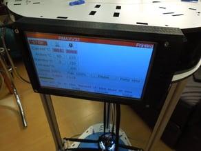 Rostock Max v3.2 PanelDue 7i mount