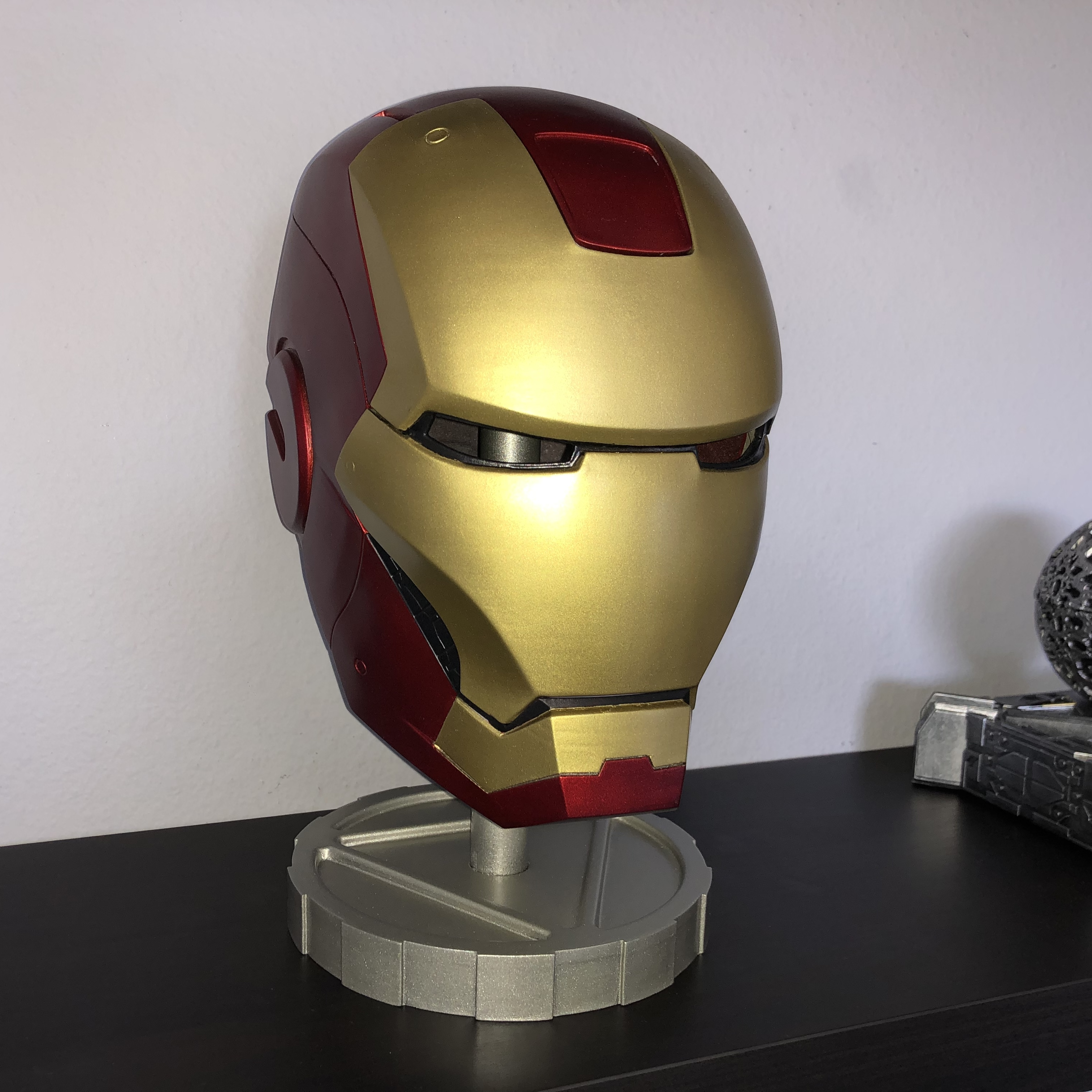 iron man helmet (wearable) by max7th - Thingiverse