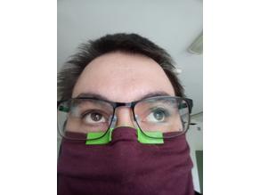 Covid glasses defoggyfier