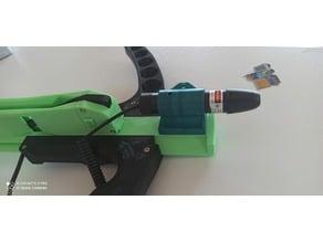 Sliding legolini 19mm laser adapter