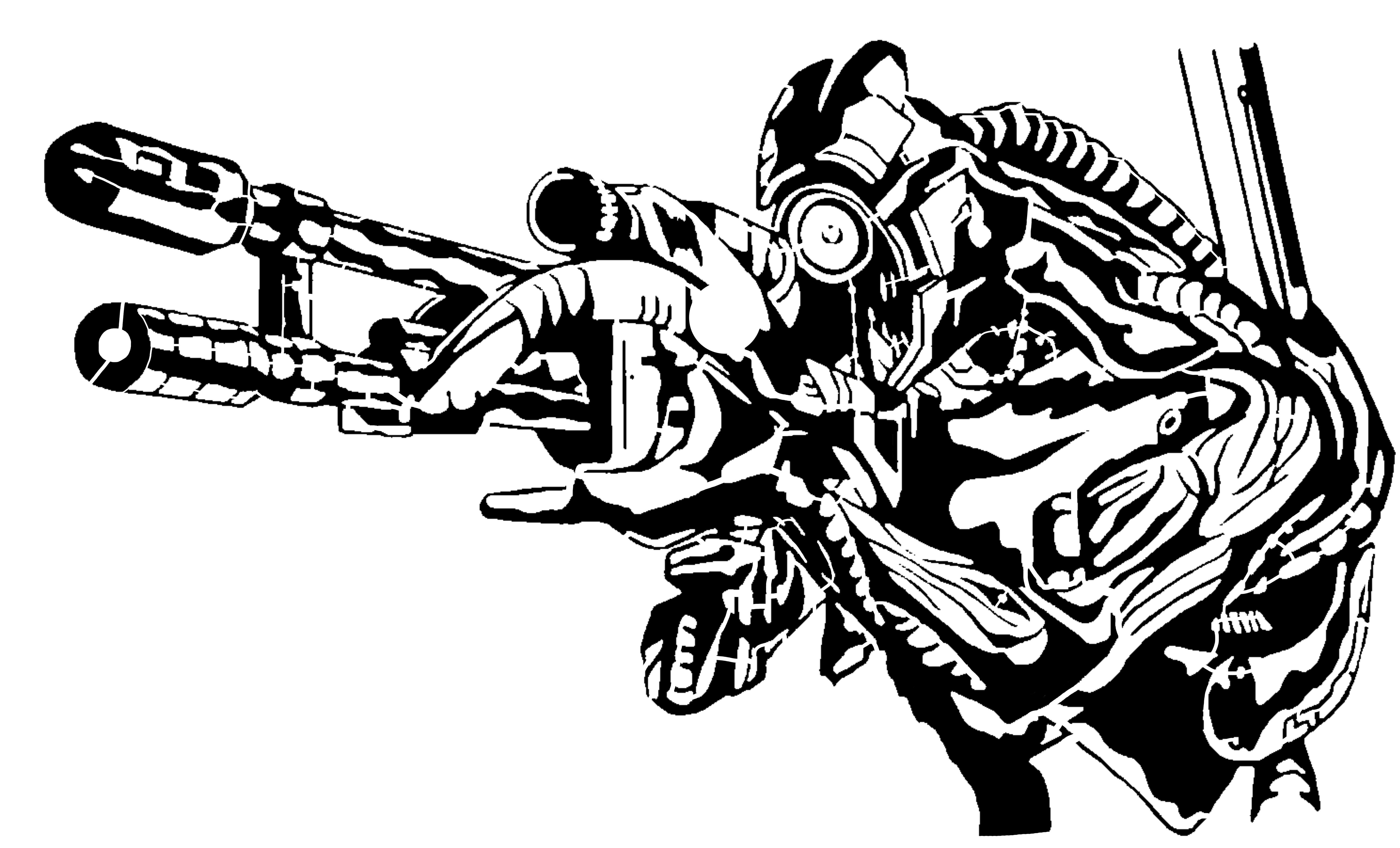 Mass Effect Legion stencil