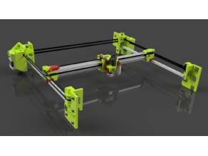 HevORT - Advanced DIY 3D Printer - XY Standard Gantry