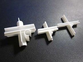 Customizable Connectors for DIY Trellis/Lattice/Fence