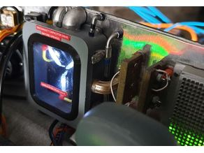 BTTF Time Machine Flux Capacitor 1:8 scale