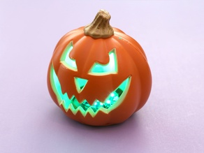 Talking Pumpkin with Lights and Sounds