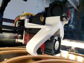 E3D V6 40mm fan adapter
