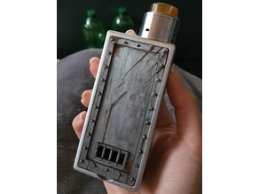 Door with claw marks (for vaping, Deathwish Cthulhu mod)