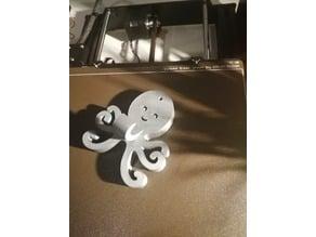 Octopus coat hook for kids