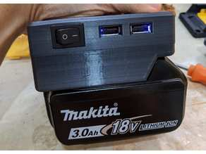 Makita power bank and power supply adapter