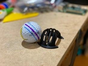 Golf Ball Marker - Three Line