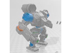 thick boy robot