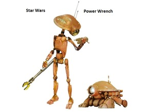 Pit Droid Power Wrench