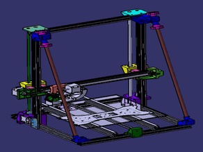 Adimlab Gantry Z linear rod