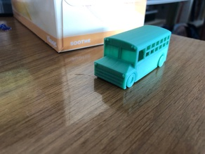 Print in place school bus