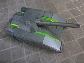 Extension for super heavy tank