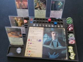 Arkham Horror 3rd Ed. Player Dashboard for sleeved cards