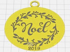Noel 2019 Ornament