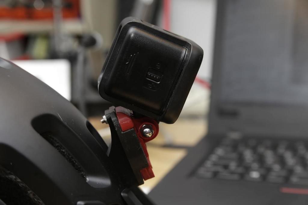 POC helmet gopro adapter