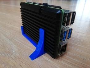 Raspberry PI 4 Stand for the heatsink case